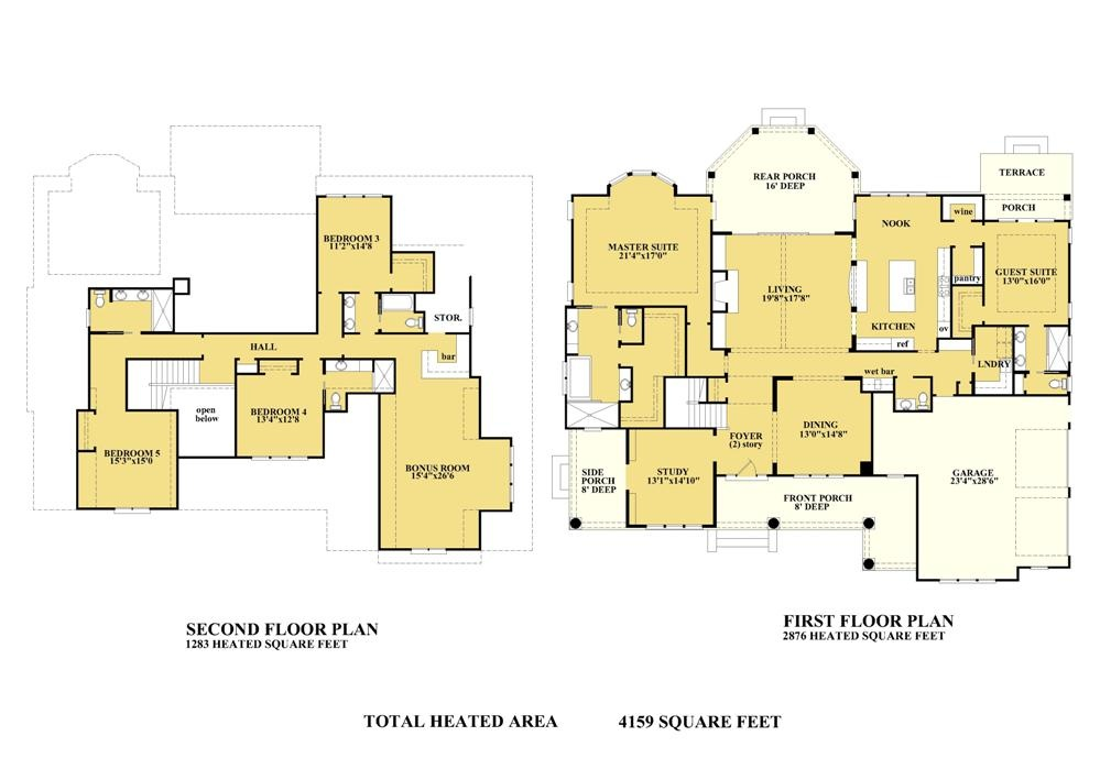 Classic American House Plans